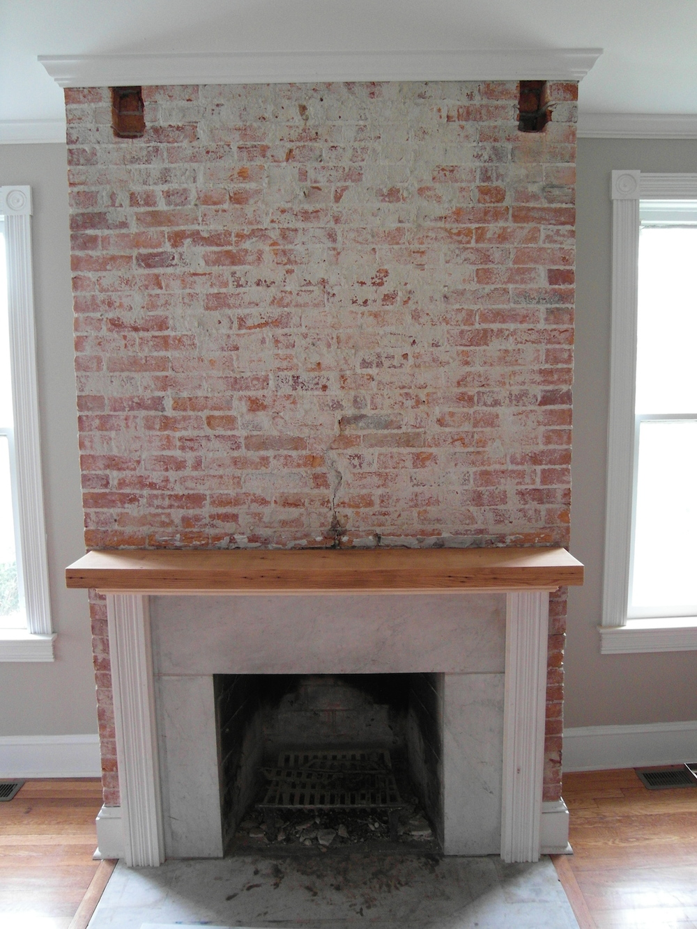 Locust st Fireplace mantle.JPG