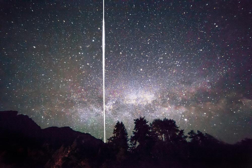 Milky Way and the ISS