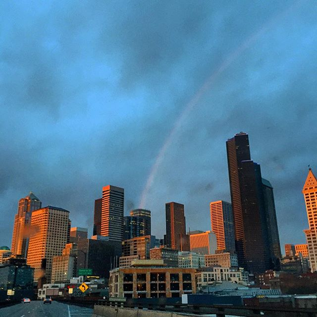 Seattle in all her rainbow glory