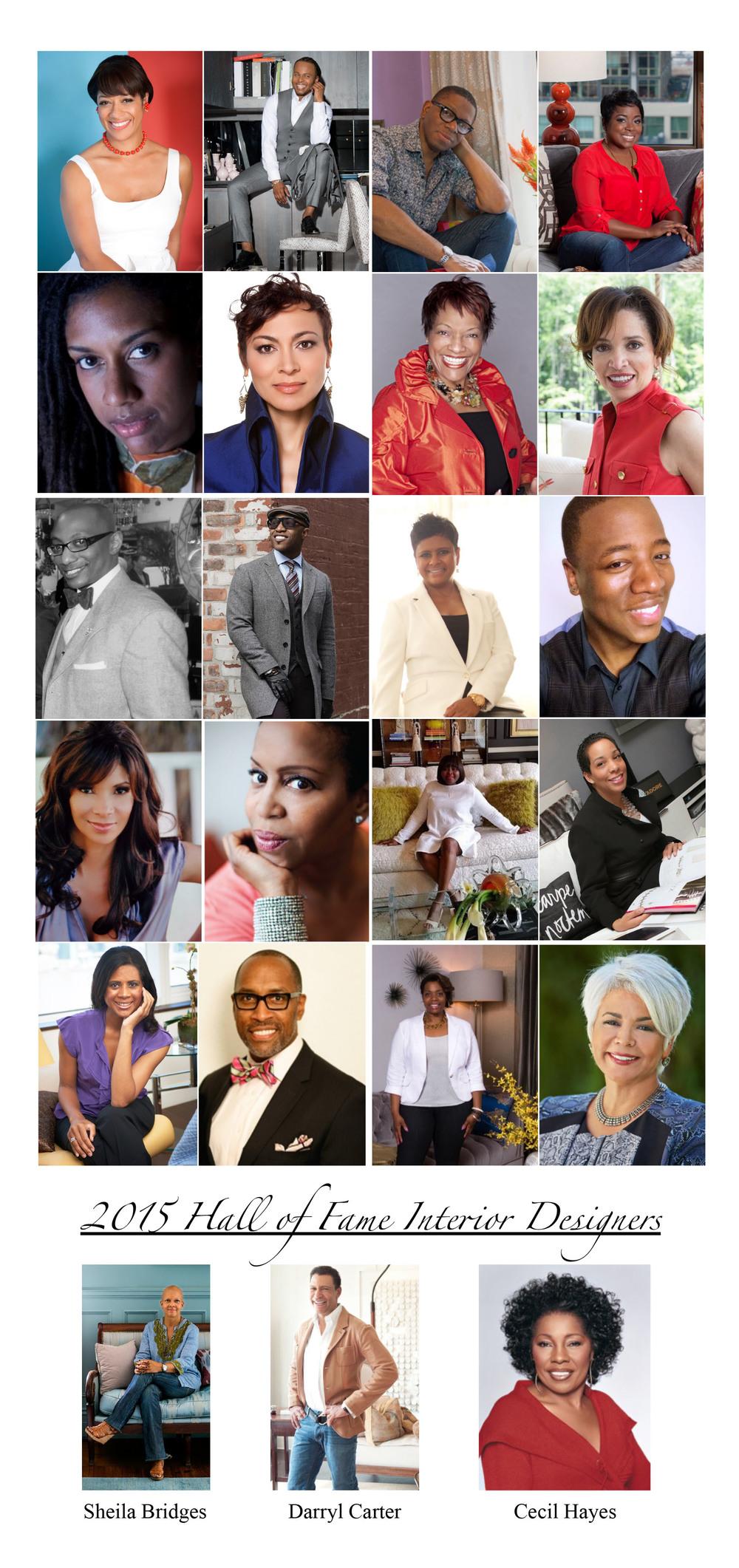 2015 African American Top 20 Interior Designers