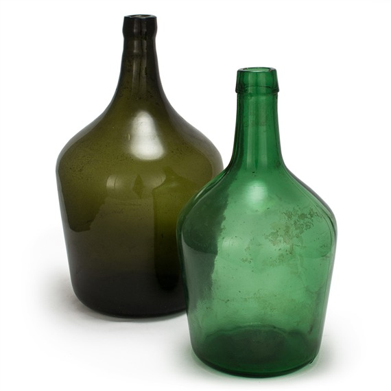 Antique Glass Bottles by Bambeco Sustainable Home Goods