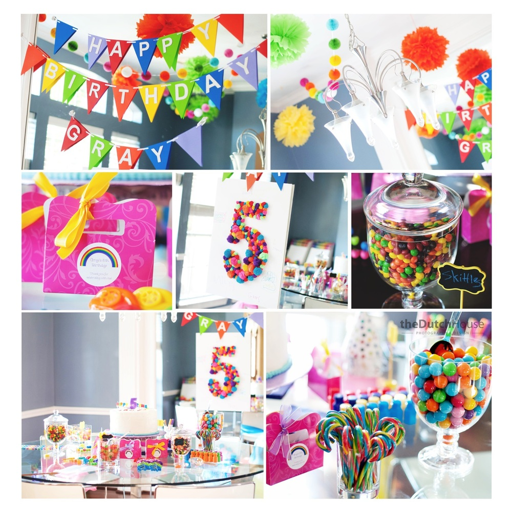 A Carousel of Colors Grays Visionary 5th Birthday ICONIC HOME