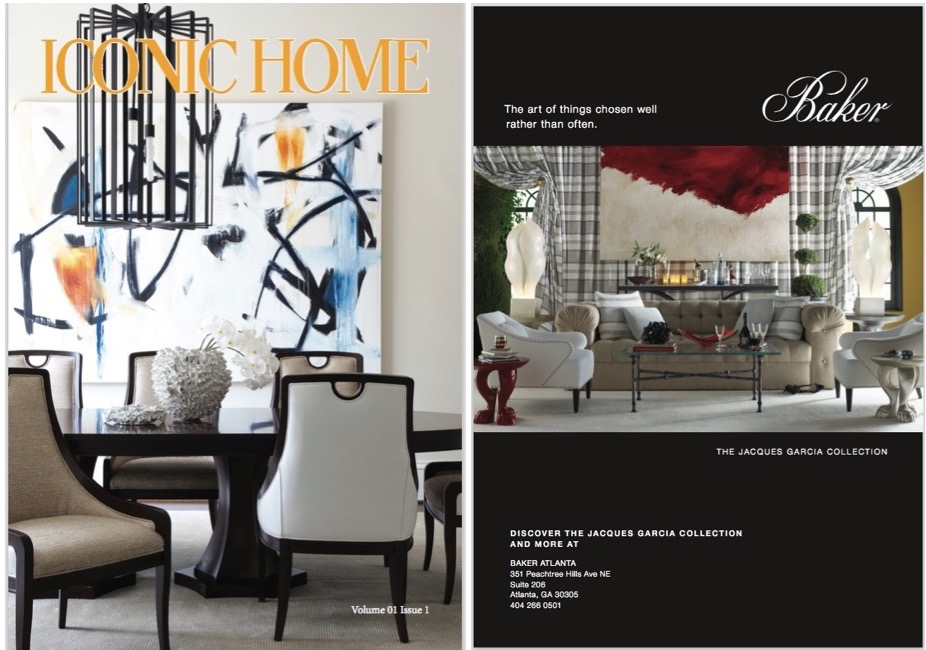 Iconic Home Magazine Cover