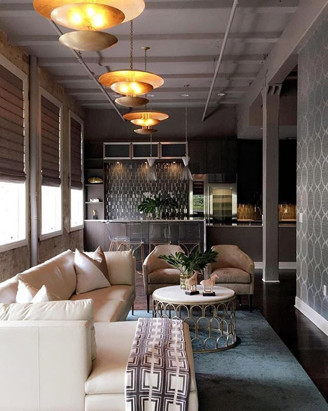 #Repost @eclectichomenola ・・・ We're proud of another successful renovation. This condo with its original plaster, exposed brick and pine columns add so much architectural detail paired with all new elements which give it a tailored/sophisticated urban vibe! #dead #portfolio #loftliving #interiordesign #workflow #details #urban #highgloss #nola #interiordesigners