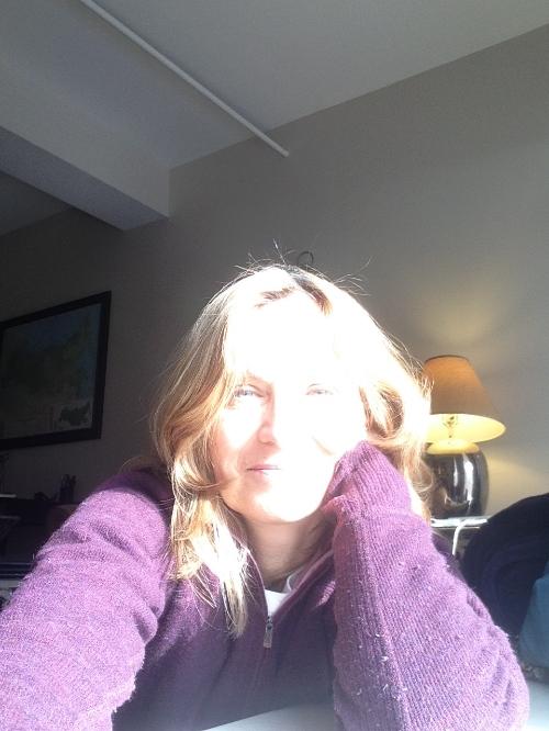 Kathleen Thompson selfie