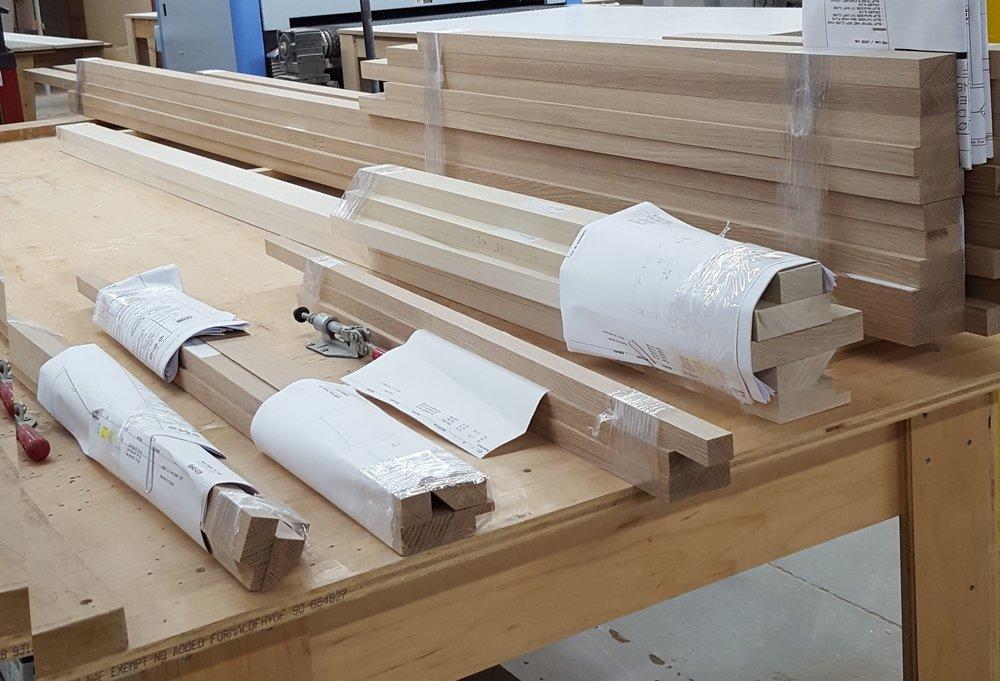 Molding awaiting Fabrication