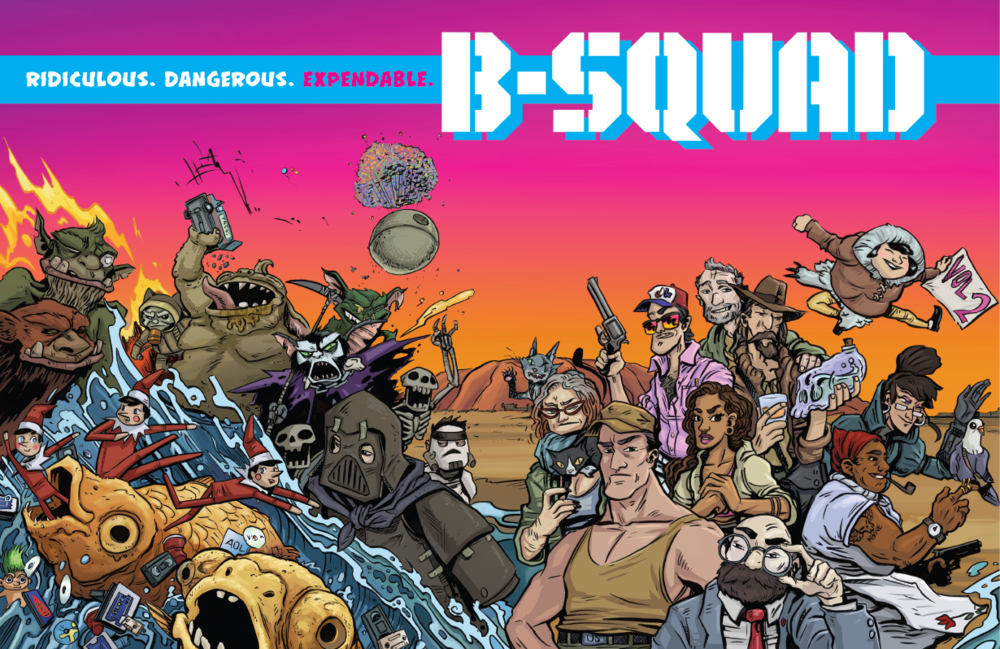 Ridiculous. Dangerous. Expendable. - Independently produced comic book series.