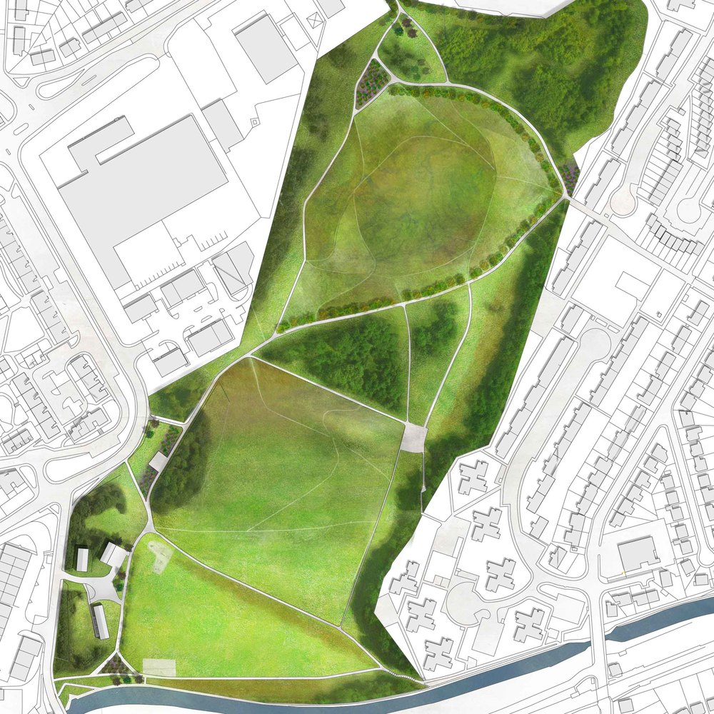 Hailes Quarry Park DESIGN