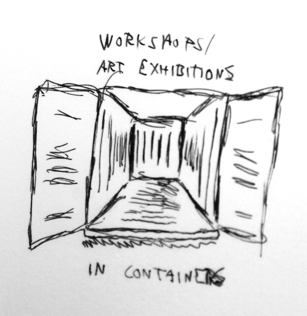 Workshops and art exhibition venue