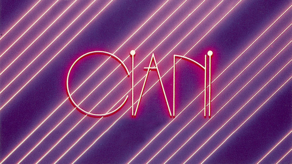 1980's original Suzanne Ciani promotional graphic
