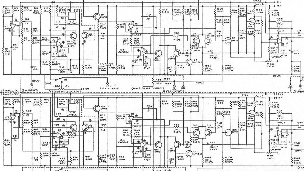 Buchla schematic