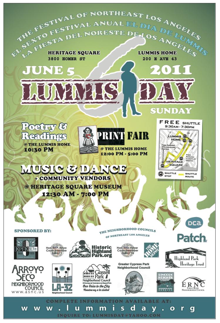 2011 Lummis Day Festival