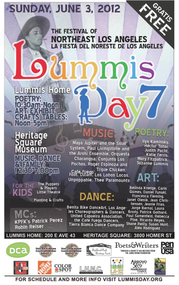 2012 Lummis Day festival