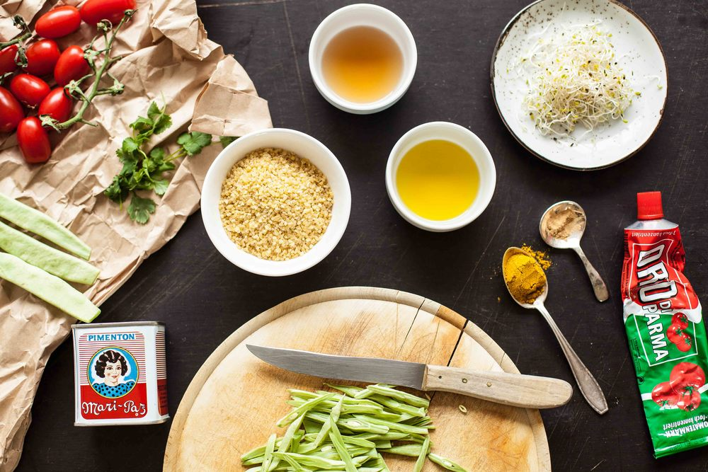 Bulgur Salad - Prepping - www.madelinelu.com