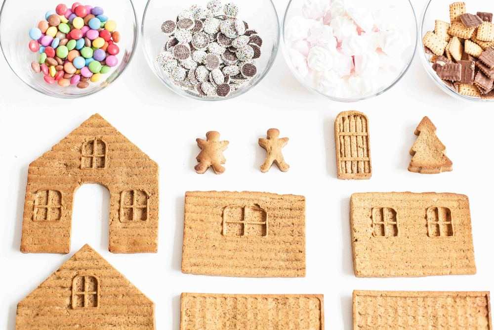 Our First Gingerbread House - flatlay - www.madelinelu.com