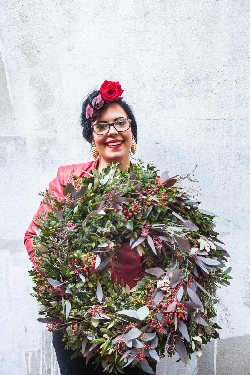 Advent Wreath - Johanna - www.madelinelu.com