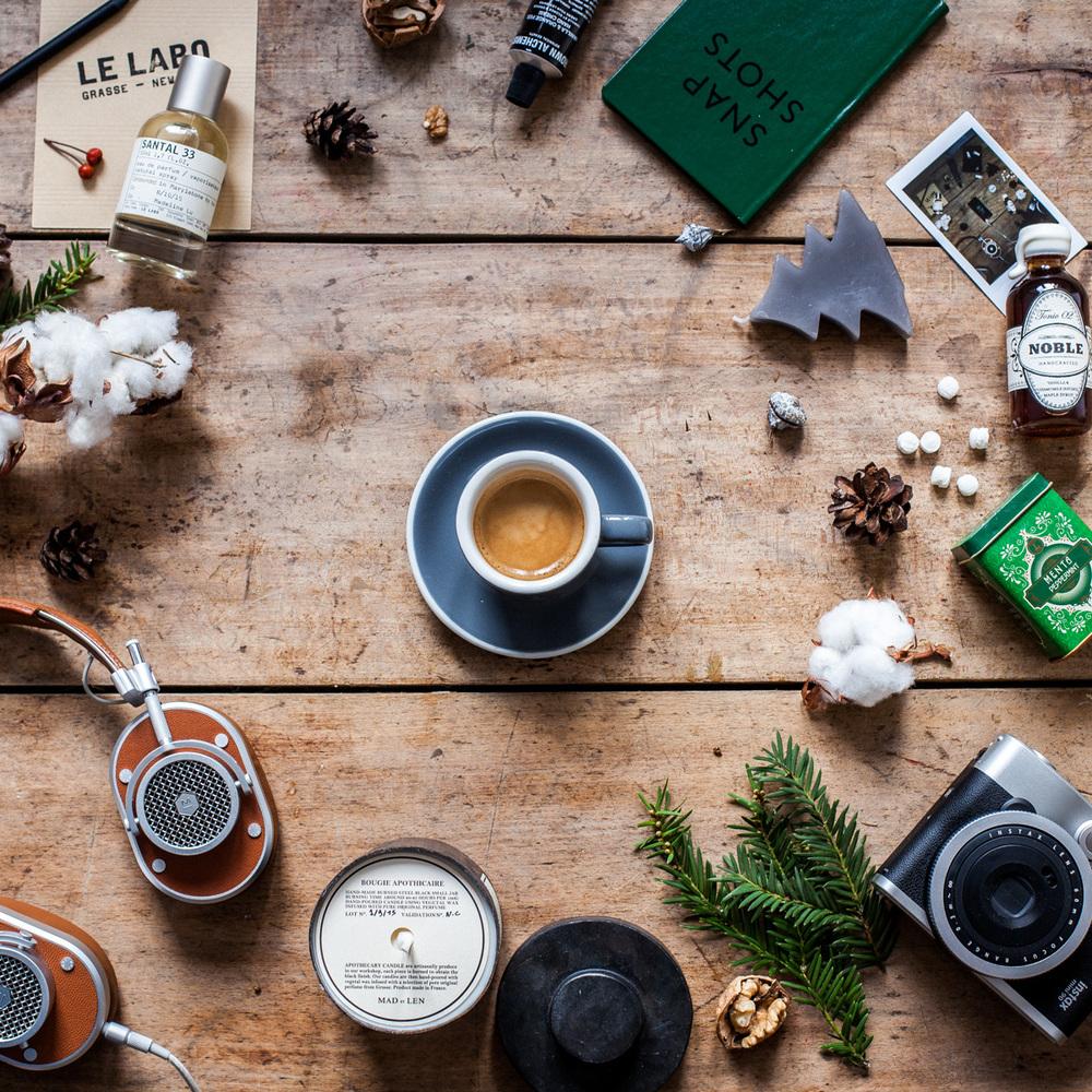 Madeline Lu Flatlay - Christmas