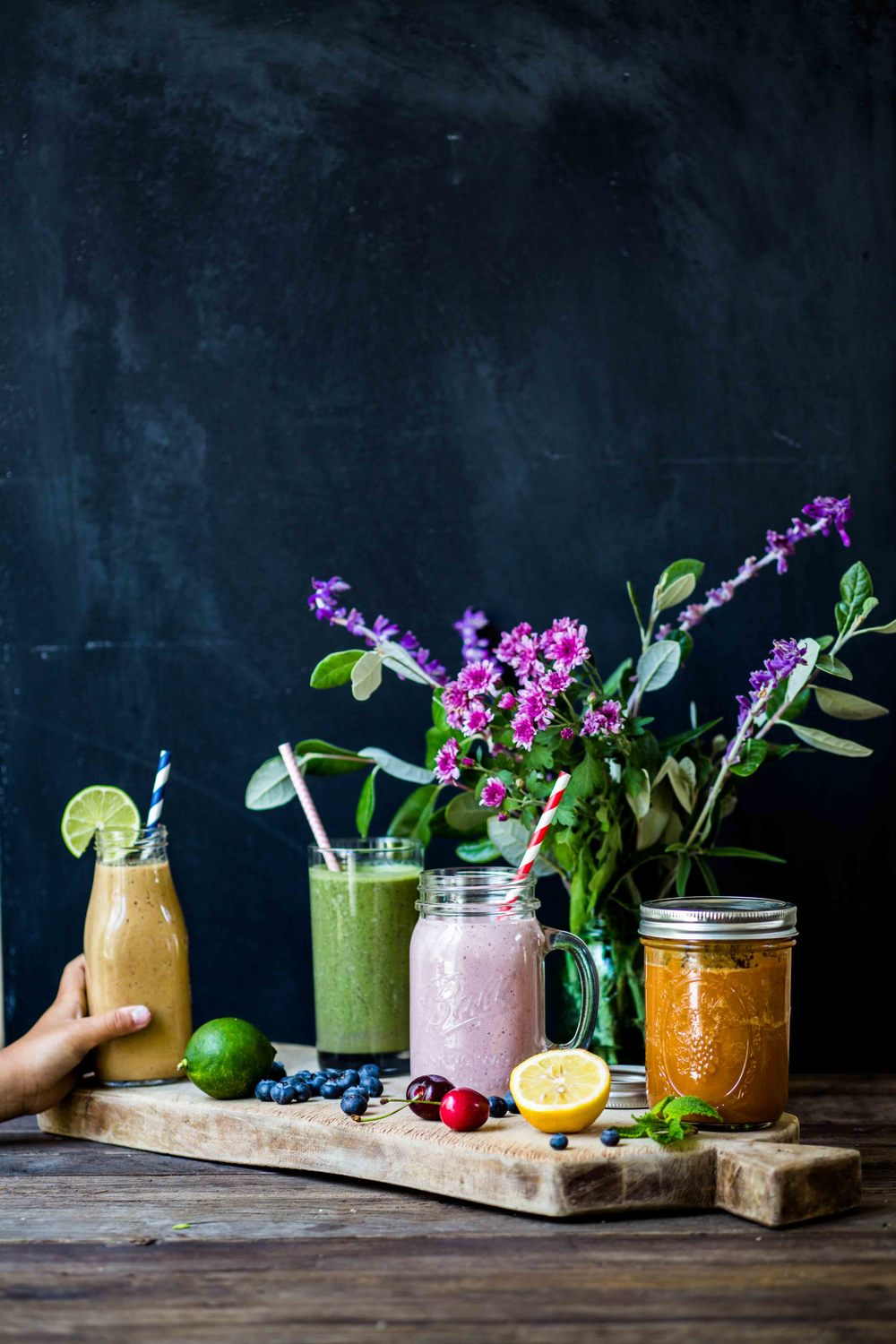 Smoothies from Green Blender - www.madelinelu.com