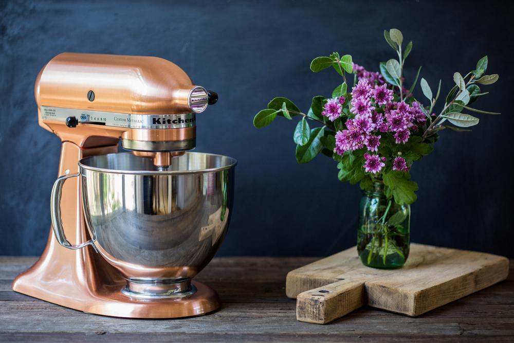 Vegan Donuts - KitchenAids Stand Mixer