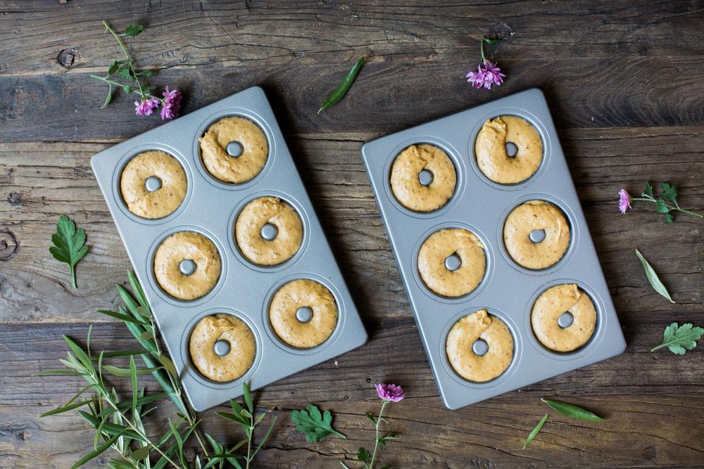 Vegan Donuts - Donut Form
