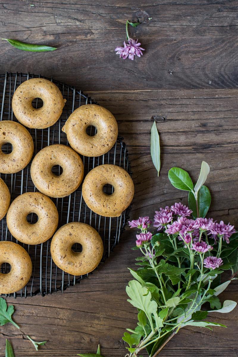 Vegan Donuts - Baked naked donuts