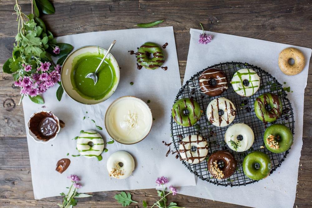 Vegan Donuts - Glazing 2