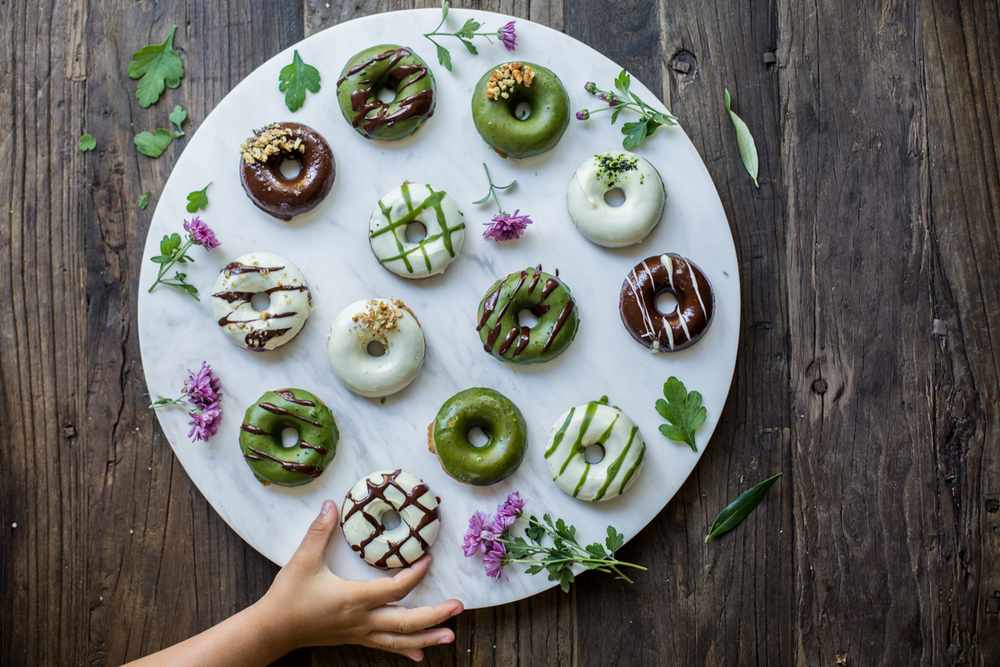 Vegan Donuts - Time to Eat