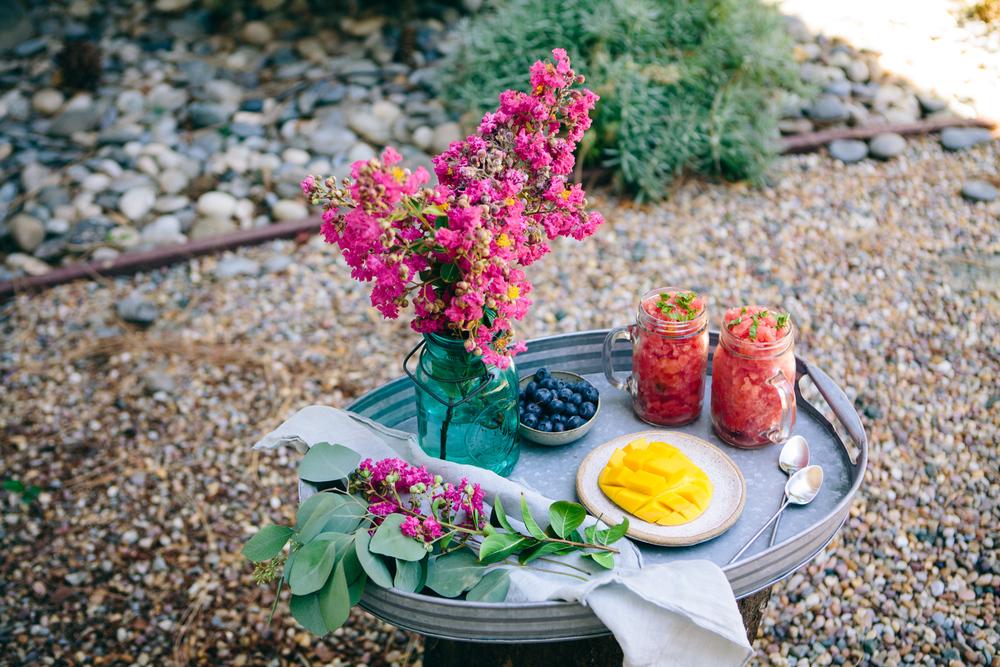 Watermelon Granita - www.madelinelu.com