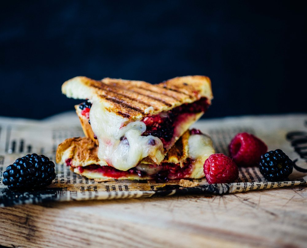 Mixed Berry & Emmentaler Panini