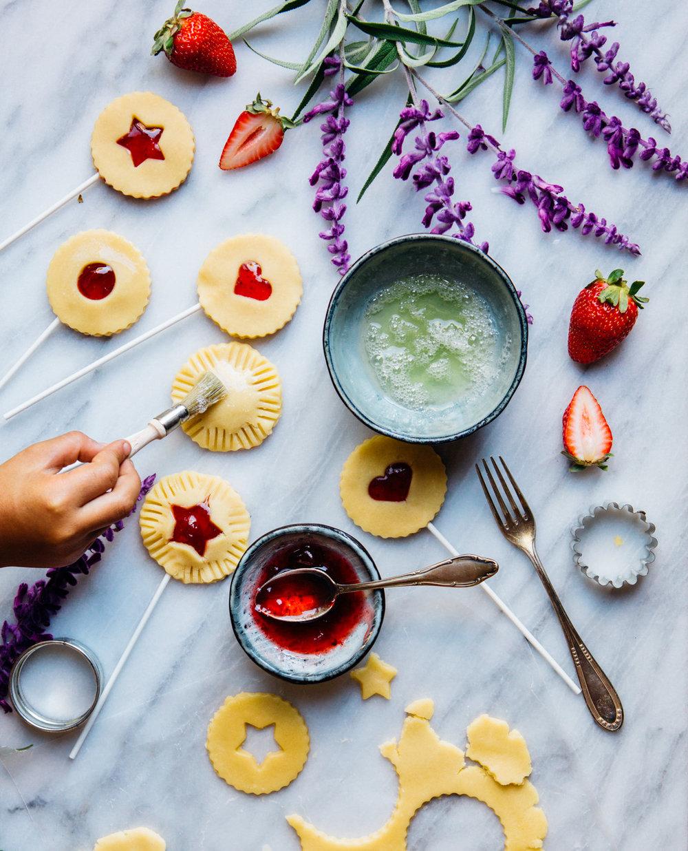 Pie pops by Madeline Lu - www.madelinelu.com / @lumadeline