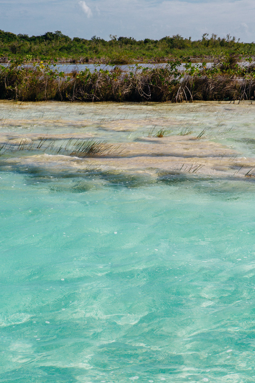 The Living Stones of Bacalar, Mexico