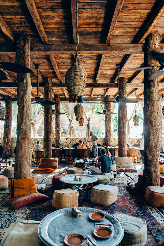Breakfast Restaurant, Tulum, Mexico - @lumadeline