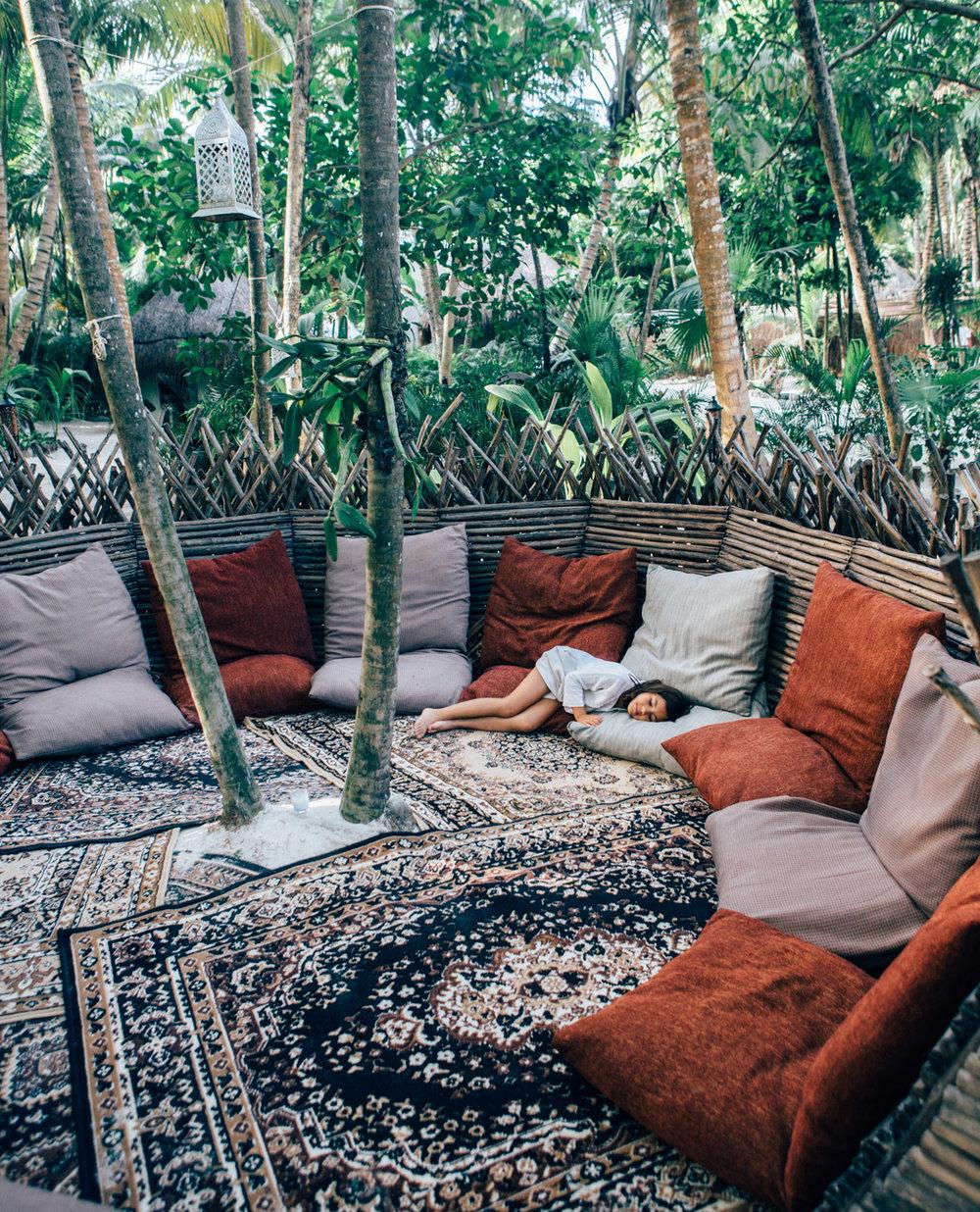 Garden, Tulum, Mexico - @lumadeline