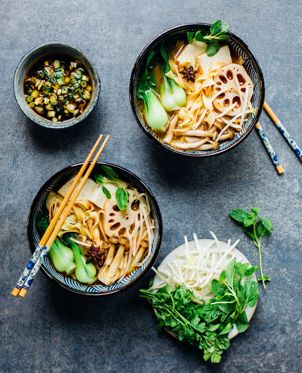 Veggie No Yolks Noodle Soup - Madeline Lu - @lumadeline
