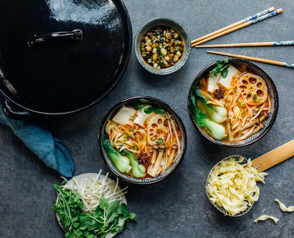 Vegan No Yolks Noodles - Madeline L - @lumadeline