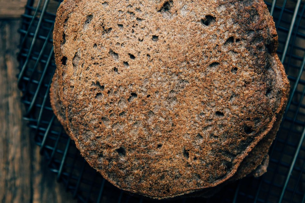 Vegan Gluten-free Buckwheat Hotcakes - by Madeline Lu - @lumadeline