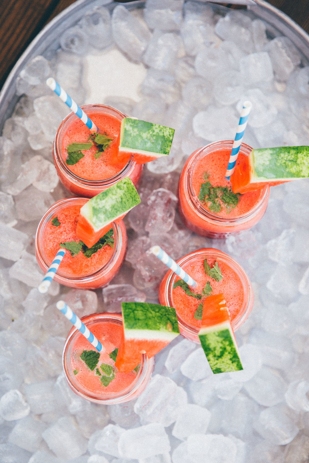 Watermelon Mojito Mocktail - by Madeline Lu - @lumadeline