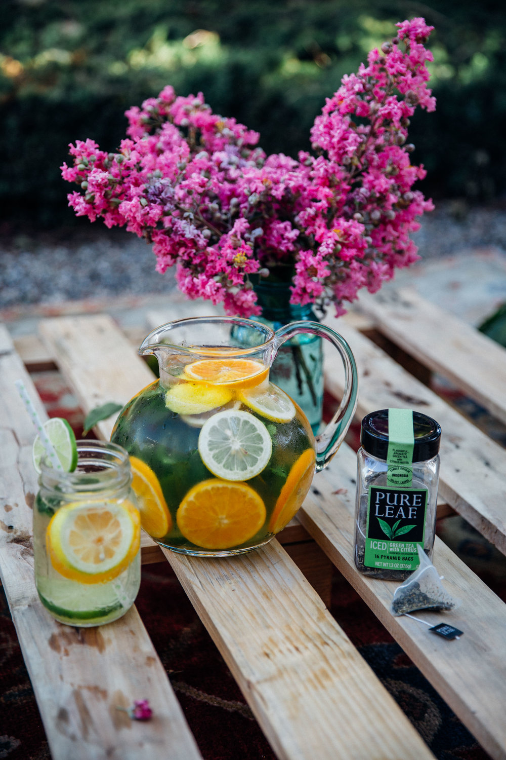 Pure Leaf Iced Green Tea with Citrus Flavor - by Madeline Lu - @lumadeline