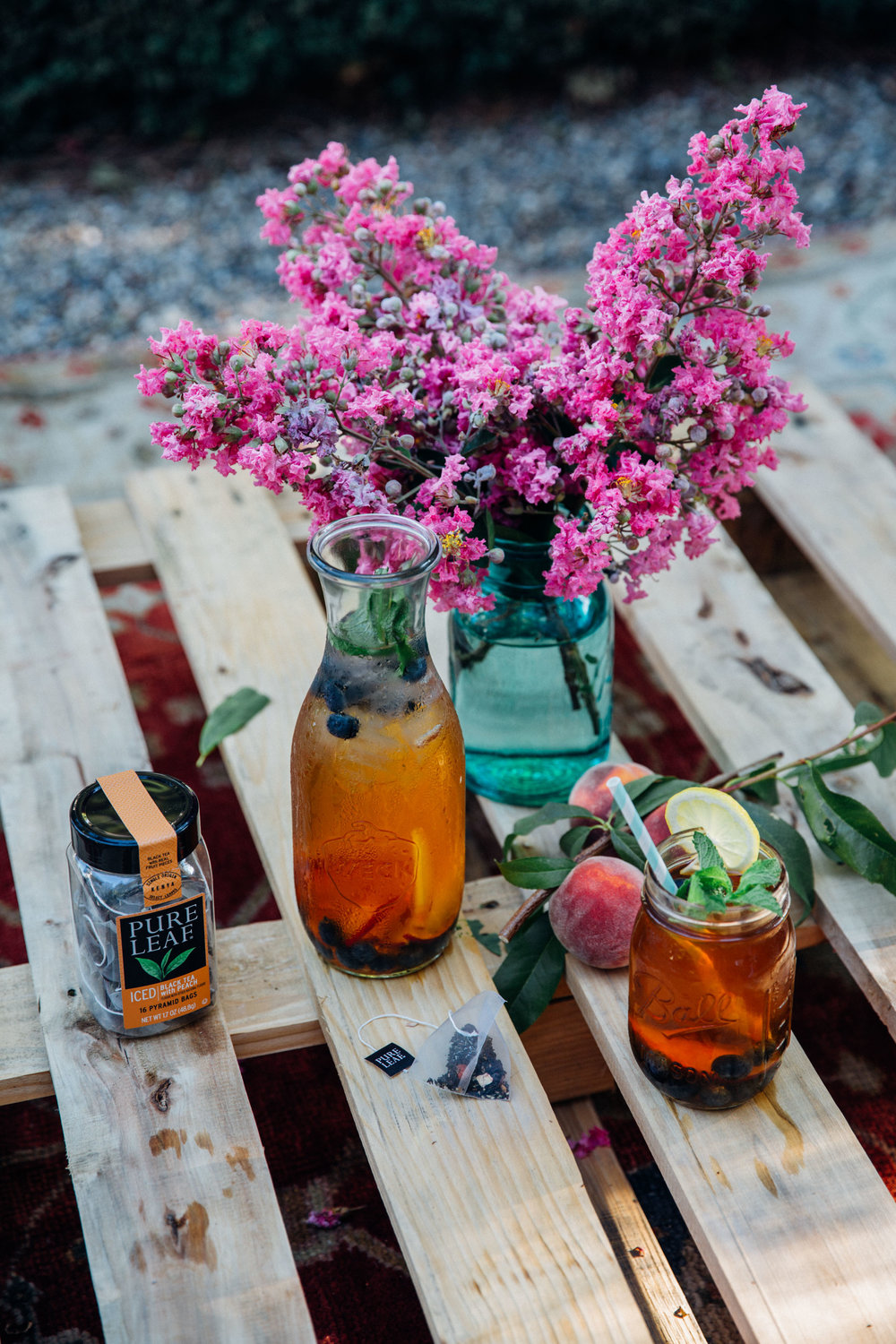 Pure Leaf Iced Black Tea with Peach Flavor - by Madeline Lu - @lumadeline