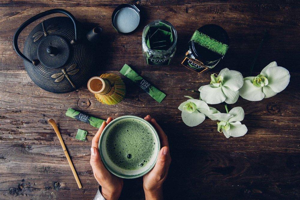 Matcha Tea with Pure Leaf - by Madeline Lu -@lumadeline