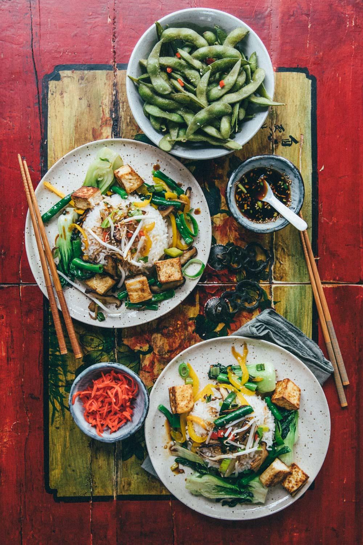Stir-fried Veggies by Madeline Lu