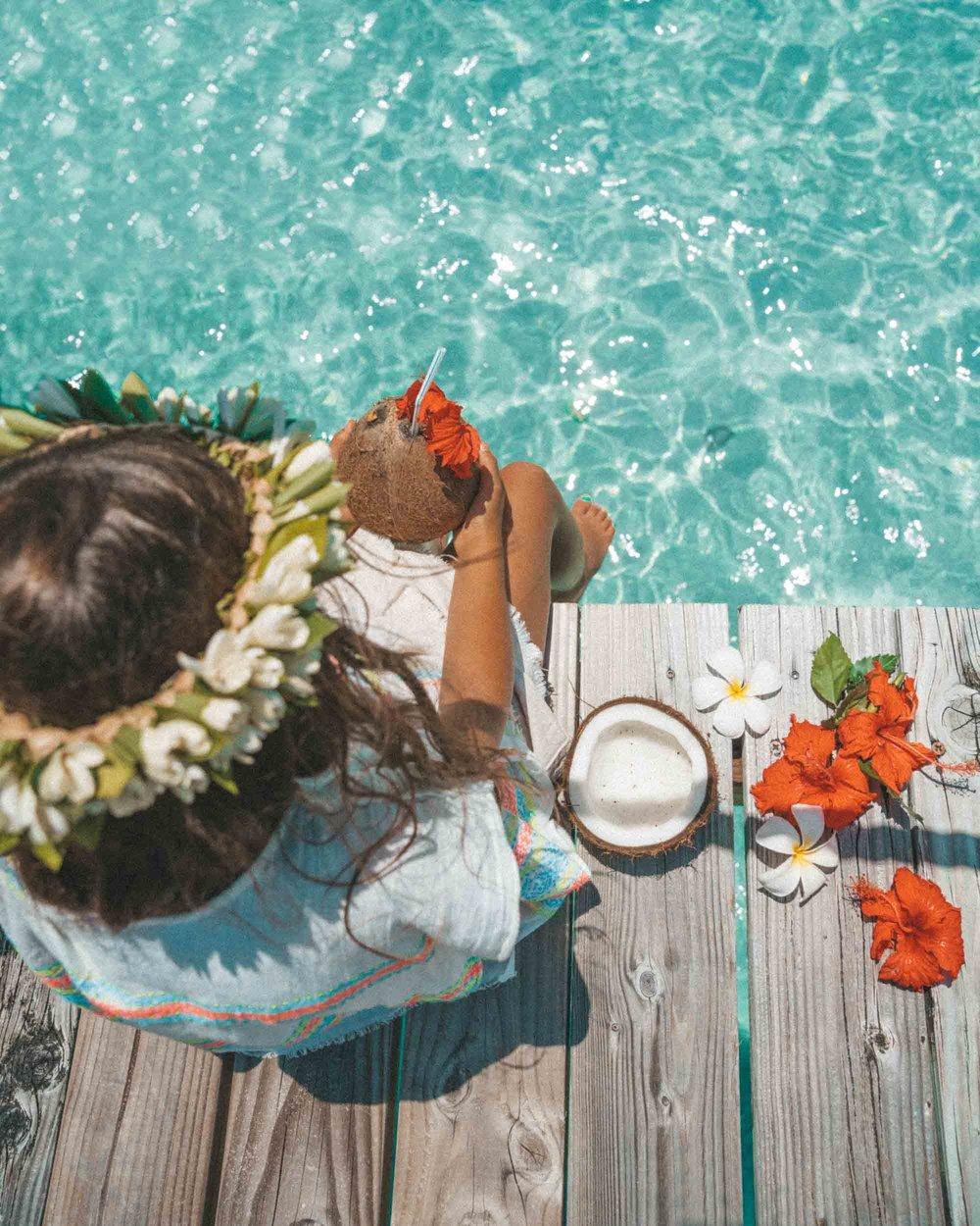 Bora Bora by Madeline Lu @lumadeline