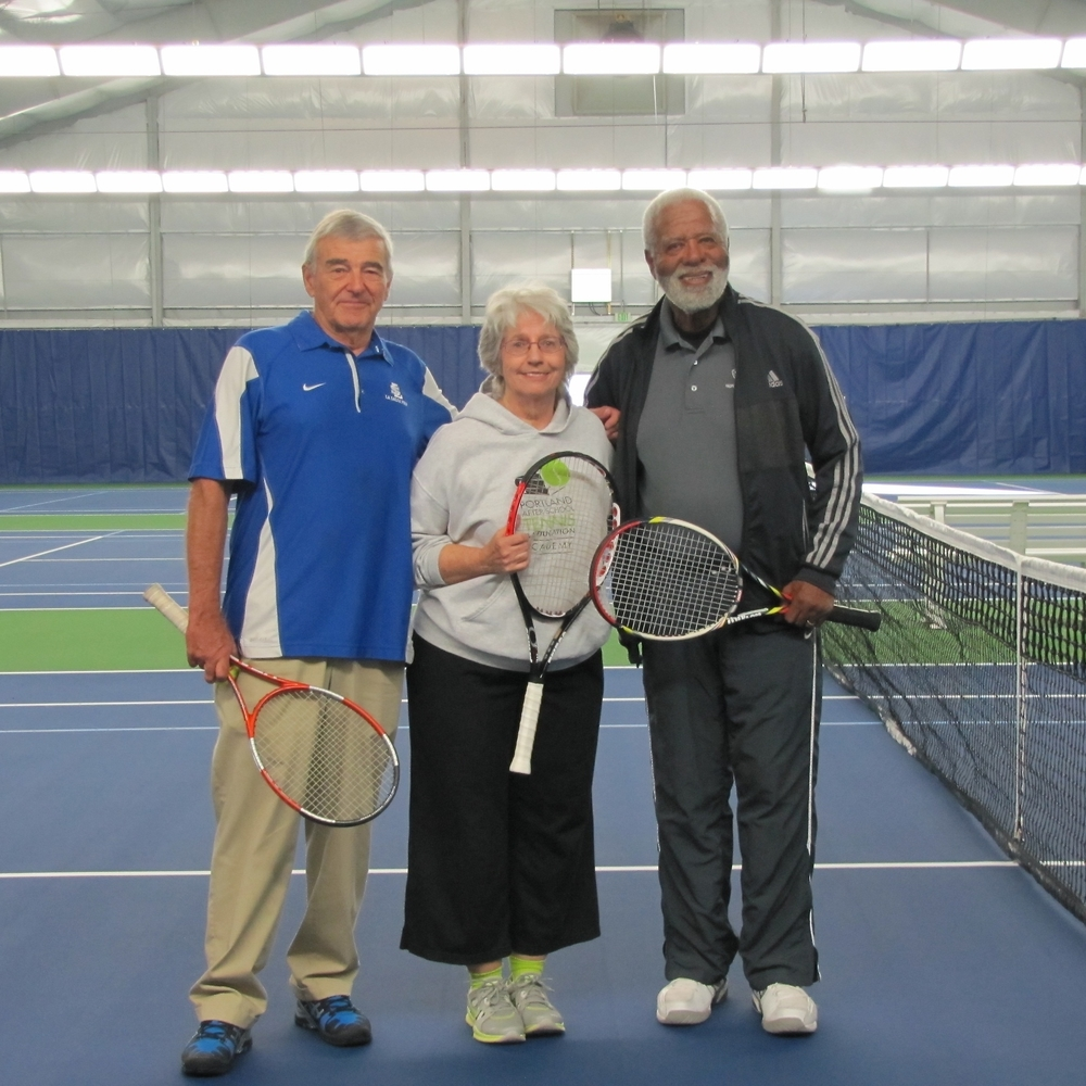 Mike Stone (former SJRC Manager), Danice Brown (Executive Director), Ernest Hartzog (PAST&E Founder)