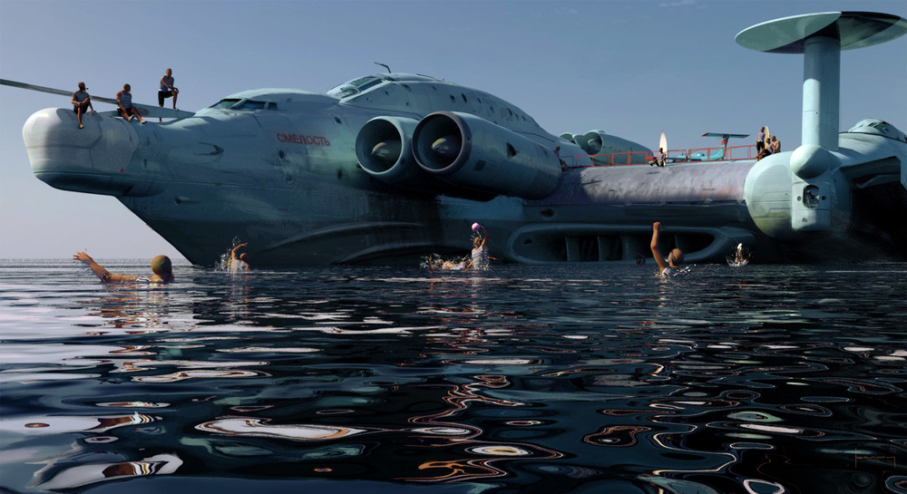 Image result for ekranoplan concept