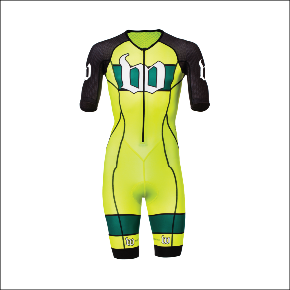 Men's Neon Ice Contender Tri Speedsuit