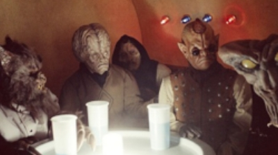 Assorted scum and villains in the Mos Eisley cantina