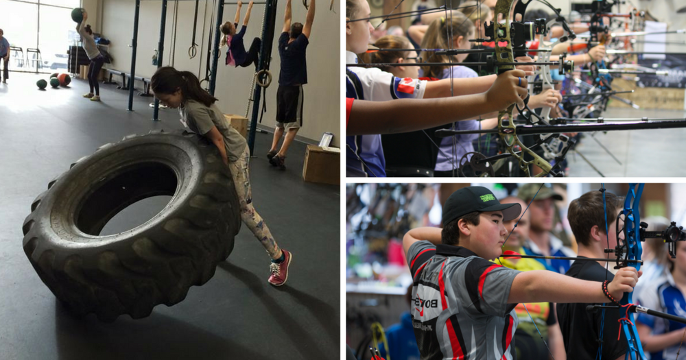 Archery CrossFit Kids Summer Day Camps