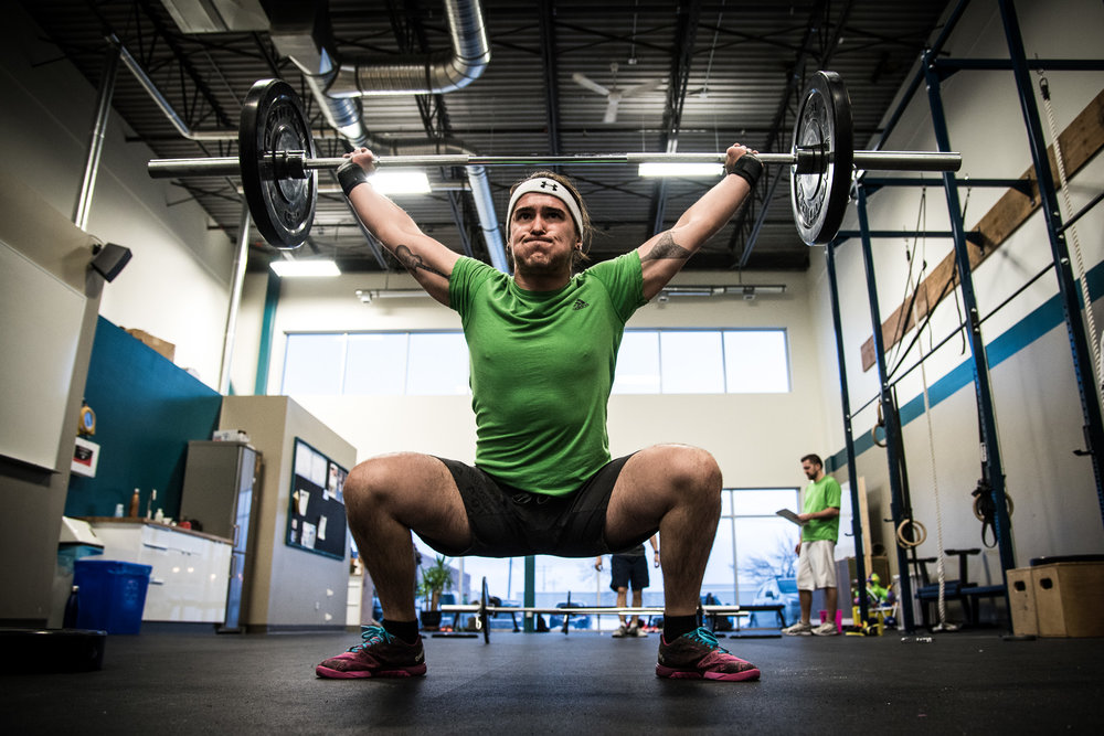 Olympic Lifting Snatch Bedrock CrossFit