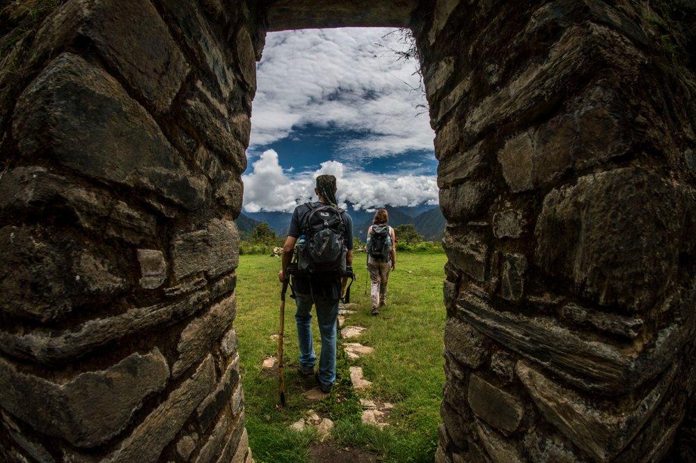 Llactapata ruins. Photo:  Trampntrekker