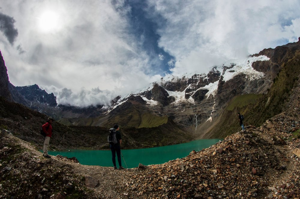 Huamantay Glacial Lake